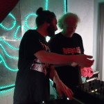 Lapse Erase und Henrik (mit Nexus-Shirt!)