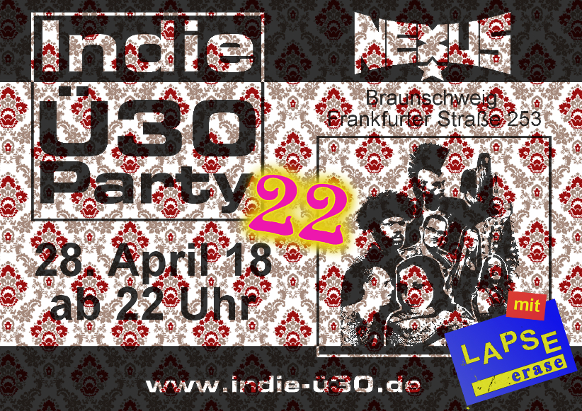 Indie-Ü30-Party, Teil 22